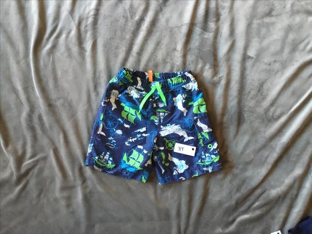 Boys Swim Trunks-size 3 years