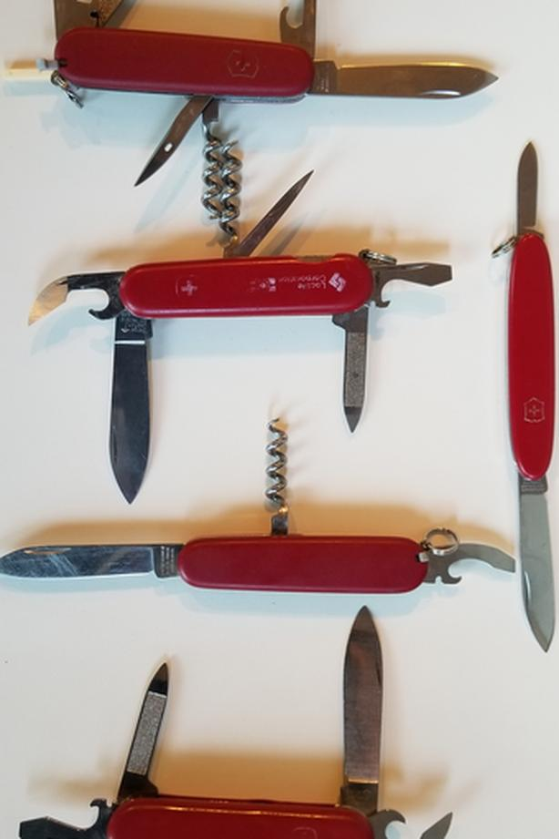 Swiss army knives - Wenger and Victorinox. 5 total
