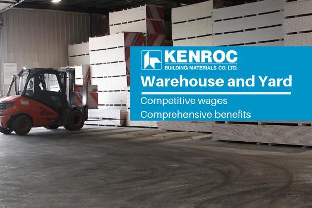Warehouse and Yard Worker - Kelowna