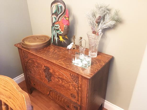 Vintage, Oak, LRDRBR Sets, FSTV, Office, Patio, BBQ