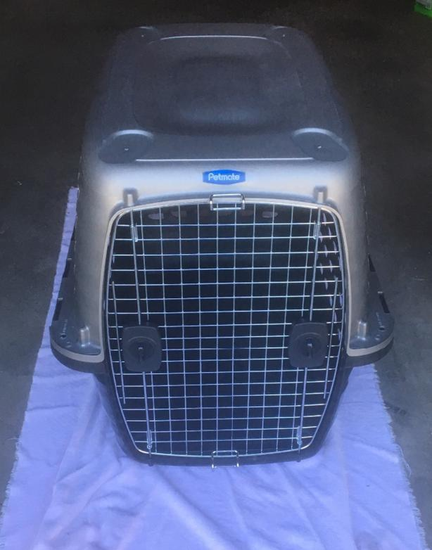 """Petmate 36"""" L Compass Fashion Dog Crate  For dogs 50-70 lbs"""