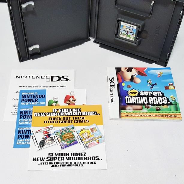New Super Mario Bros 100% COMPLETE Nintendo DS (2DS-3DS