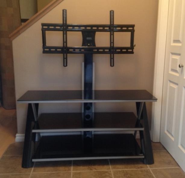 TV stand and mounting system