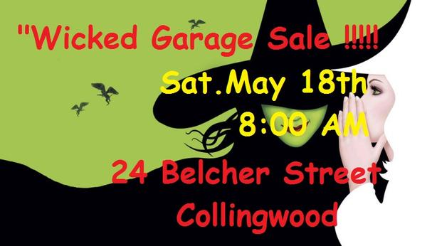 """Wicked Garage Sale"""