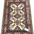 20984-Kazak Hand-Knotted/Handmade Afghan Rug/Carpet Tribal/Nomadic Authentic