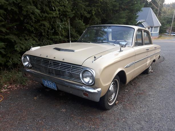 $1,500 · 1963 Ford Falcon Futura w/ receipt dating back 40 years