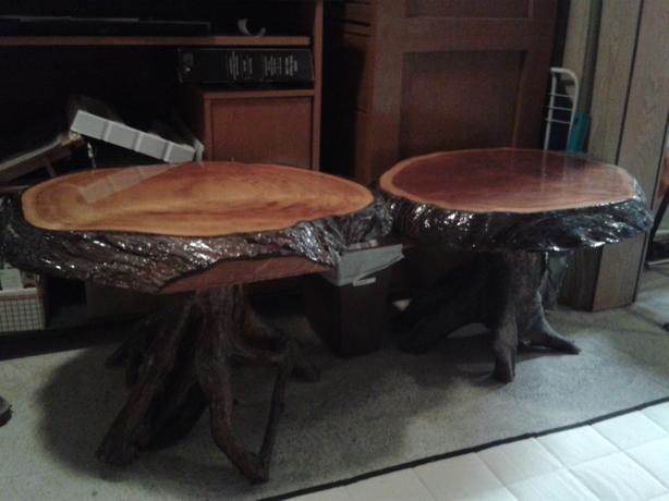 Burl table