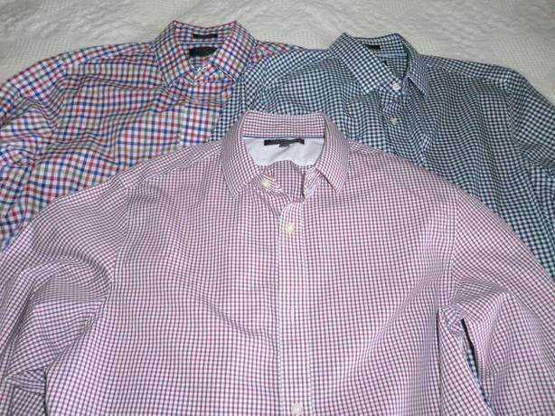New men's dress shirts $8.00 each.