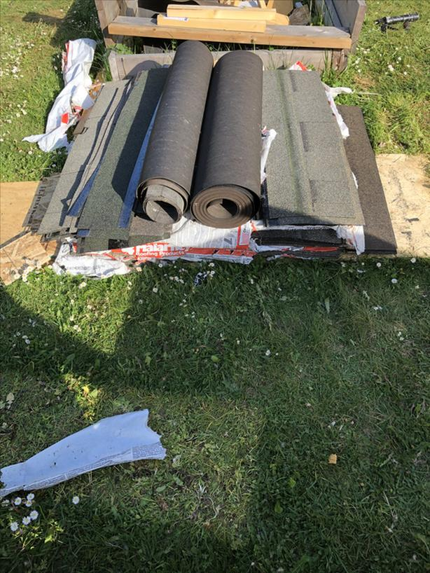 Roofing Material Shingles Starters Ridge Caps And 30lb