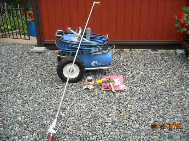  Log In needed $450 · GRACO AIRLESS PAINT SPRAYER