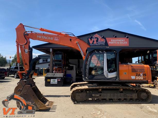 Hitachi ZX200 LC-3 Excavator