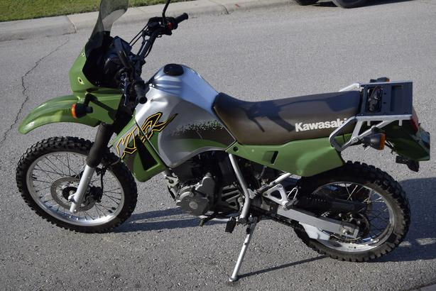 Kawasaki 2001 KLR 650  ENDURO https://youtu.be/MiuSsff3lmA