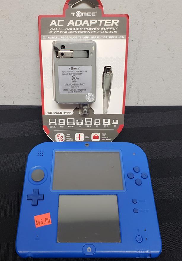 Blue Nintendo 2DS Console