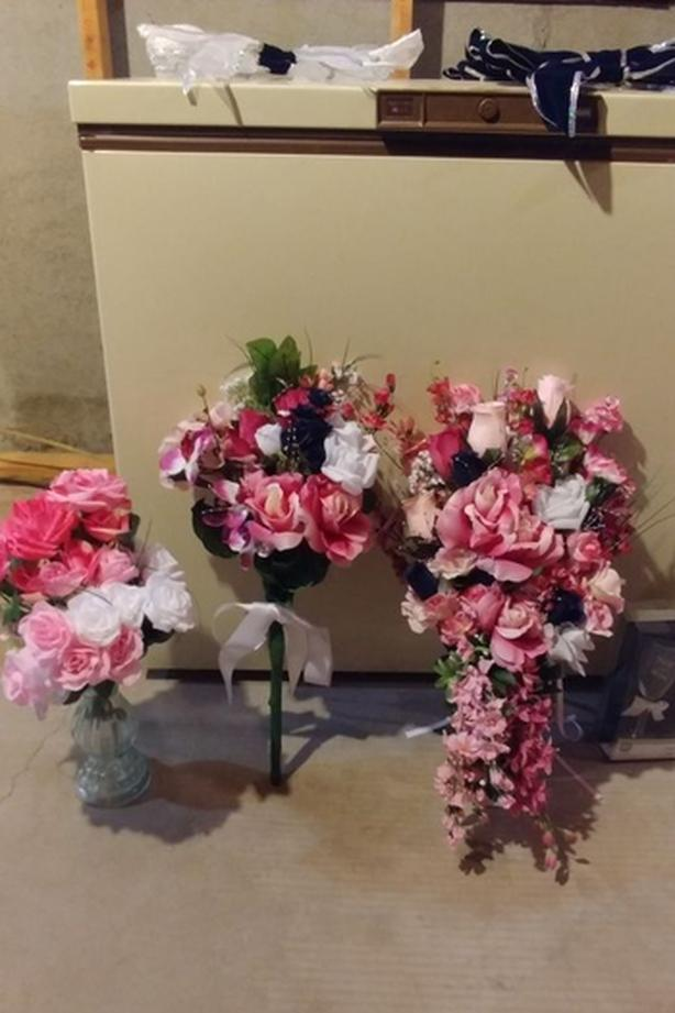 Artificial Flowers For Wedding Party-$100 For All