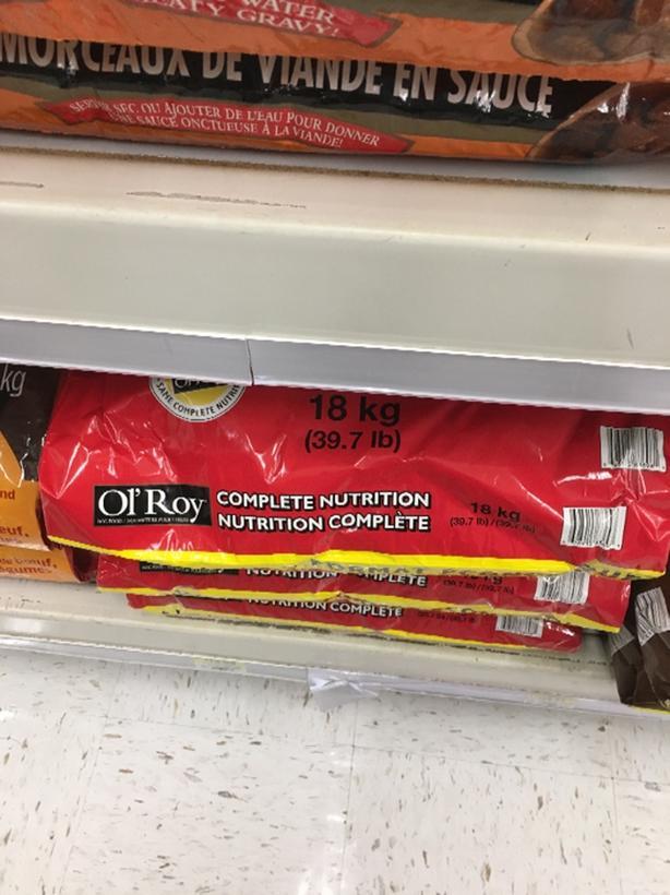 FREE: Ol Roy dog food