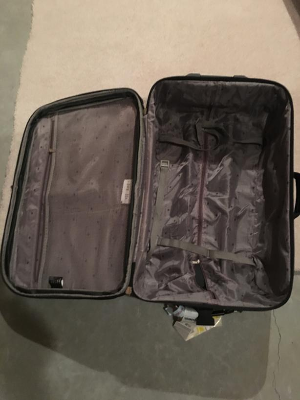 Suitcases: AC suitcase  and Buxton suitcase