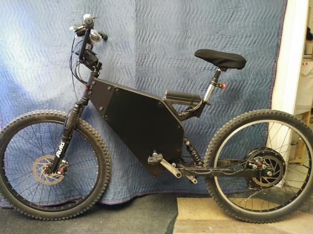 Mountain Ebike 3600 watts 70 km/h