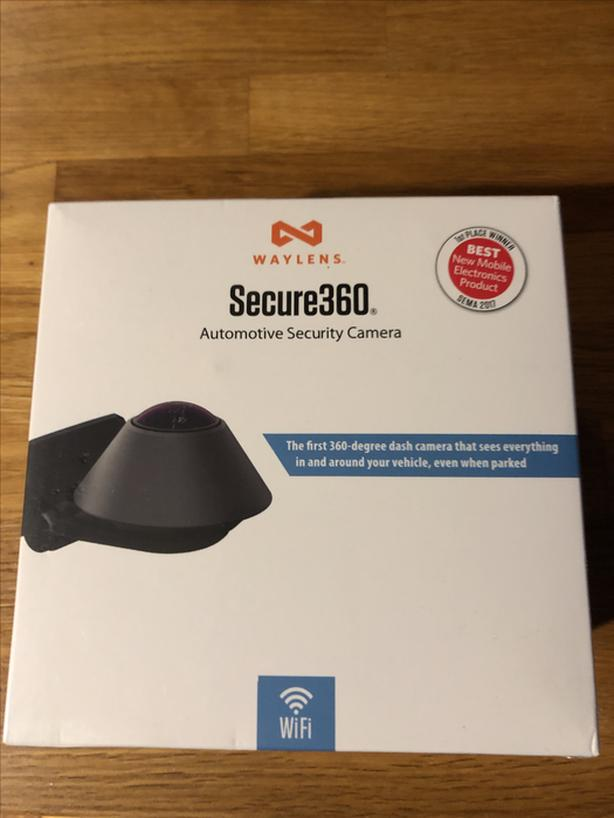 Waylens Secure360 Dash cam