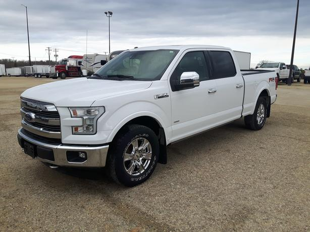 2017 Ford F-150 SuperCrew Lariat - One Owner!  9X020A