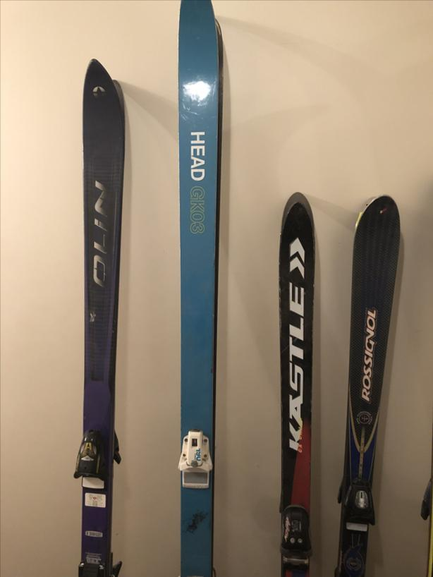 Skis and Boots - Assortment