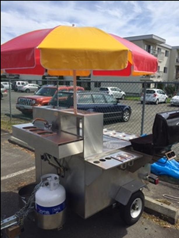 Mobile Concession trailer / Hot Dog Cart