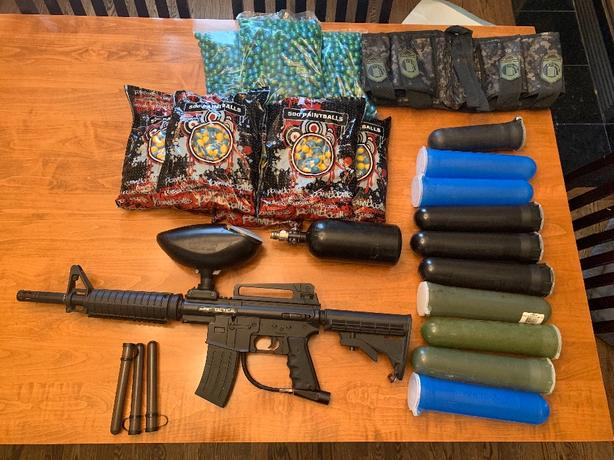 Beginner Paintball Gear - Marker and Accessories