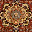 14839-Sanjan Hand-Knotted/Handmade Persian Rug/Carpet Tribal/Nomadic Authentic