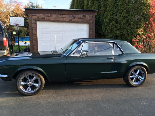 68 Ford Mustang