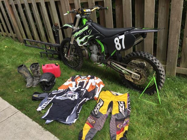 2-stroke Dirt Bike