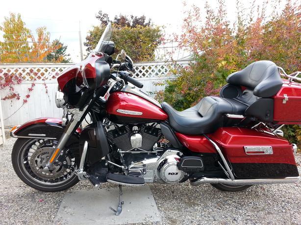 2013 Harley Davidson FLHTK Ultra Limited