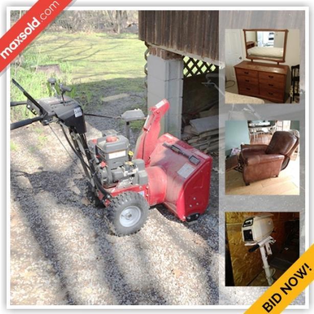 HIGH END AUCTION - Lansdowne Downsizing Online Auction - Village Estates Road