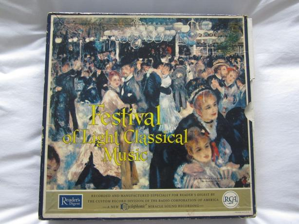 12 Record Collection of Light Classical Music