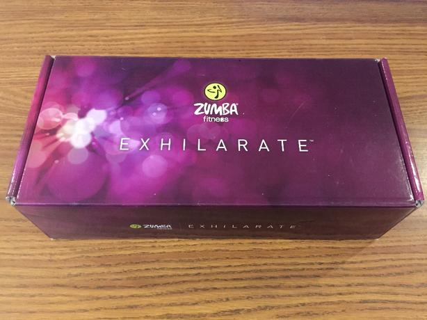 Zumba Exhilarate fitness Dvd's