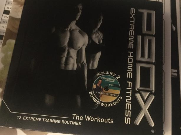 P90X 12 Dvd Extreme Home Fitness
