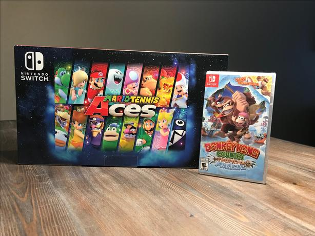 BRAND NEW *SEALED* Nintendo Switch + Games!
