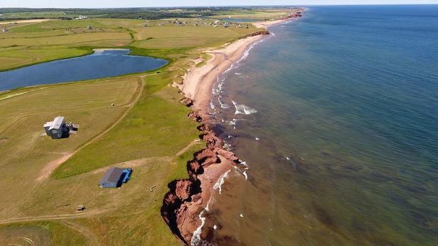 Spectacular Panoramic Sandy Beach View Prince Edward Island