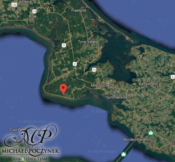 18 Acres of Waterfront in Mont Carmel Prince Edward Island Canada
