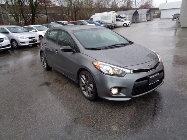 2016 Kia Forte5 SX**Turbo**Paddle Shift**Htd Frt Seats**Sirius RDO