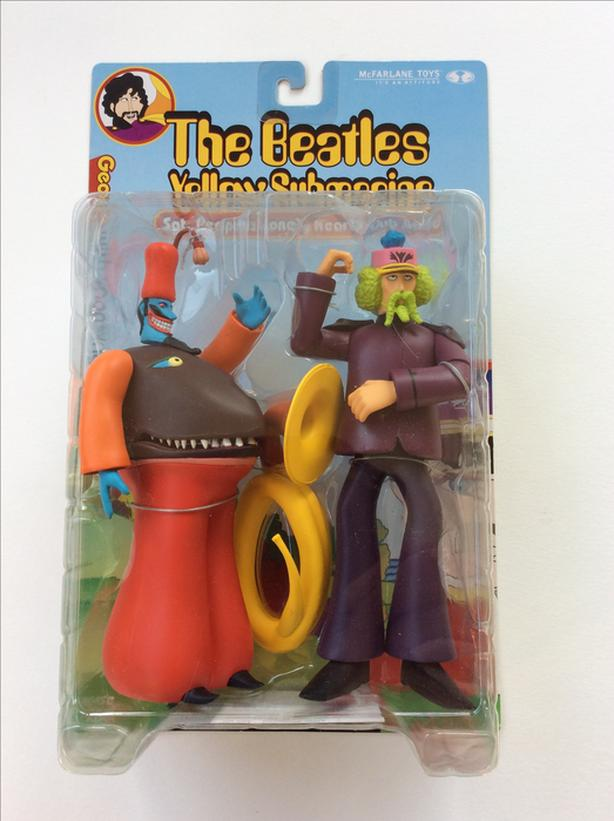 SET OF 4 BEATLES-YELLOW SUBMARINE FIGURES