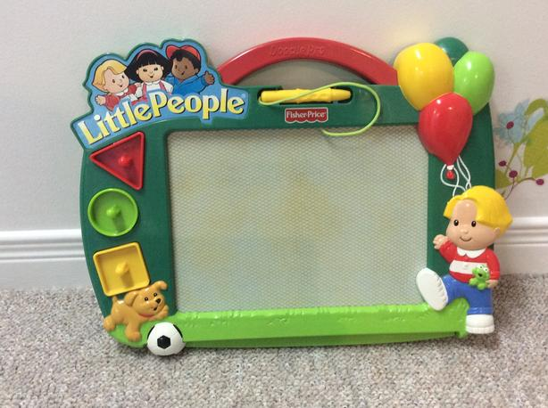 Little people Fisher Price magnetic drawing
