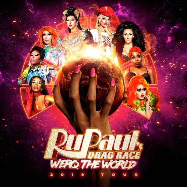 RuPaul's Drag Race Work the World Tour 2019