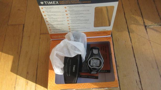 Timex Heart Rate Monitor watch plus digital sensor