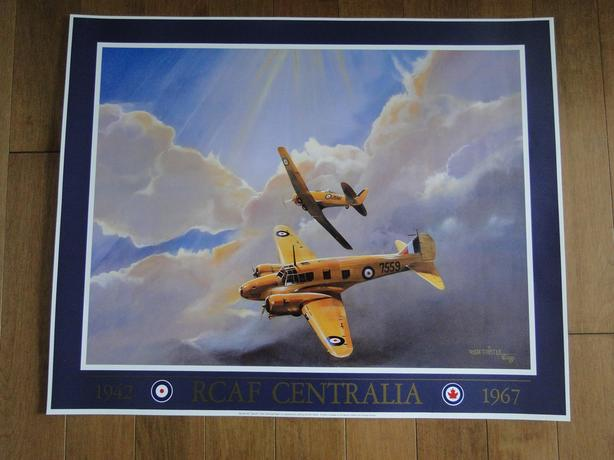 1942-1967 RCAF CENTRALIA POSTER