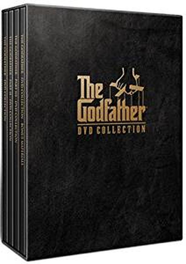 AllTimeClassic The Godfather DVD Complete 5 Discs SpecialEditionCollectionSet