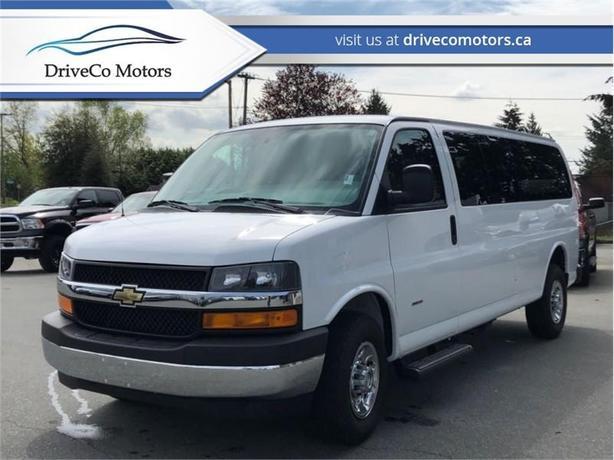 2017 Chevrolet Express Cargo Van 3500 diesel with 200kms