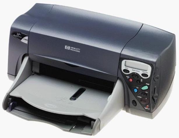 HP Deskjet document photo printer with new ink cartridges