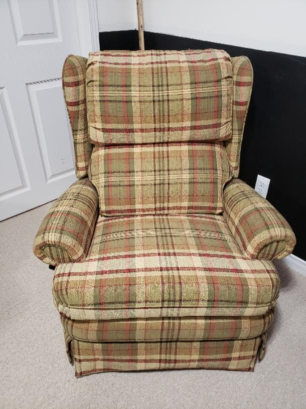 Plaid Recliners