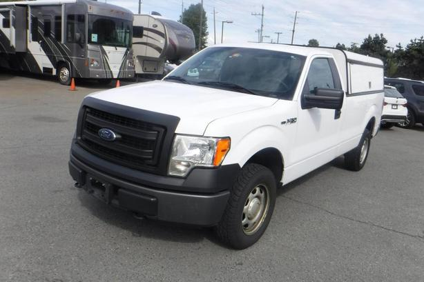 2013 Ford F-150 XL 8-ft. Bed 4WD Long Box with Canopy
