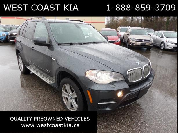 2012 BMW X5 xDrive 35d, Navigation, Leather, Panorama Sunroof