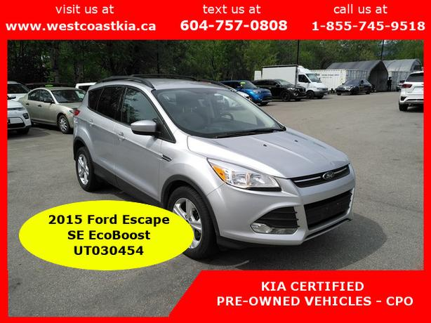 2015 Ford Escape SE AWC**Htd Cloth Seats**BU Cam**Sirius Radio